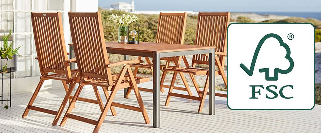 FSC® LABEL IS YOUR GUARANTEE OF SUSTAINABLE PATIO FURNITURE