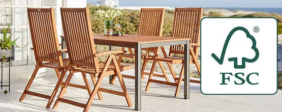 FSC® LABEL IS YOUR GUARANTEE OF SUSTAINABLE GARDEN FURNITURE