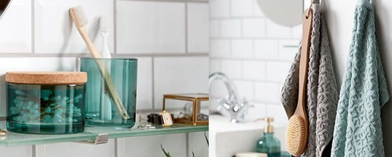 RESTYLE YOUR BATHROOM ON A BUDGET