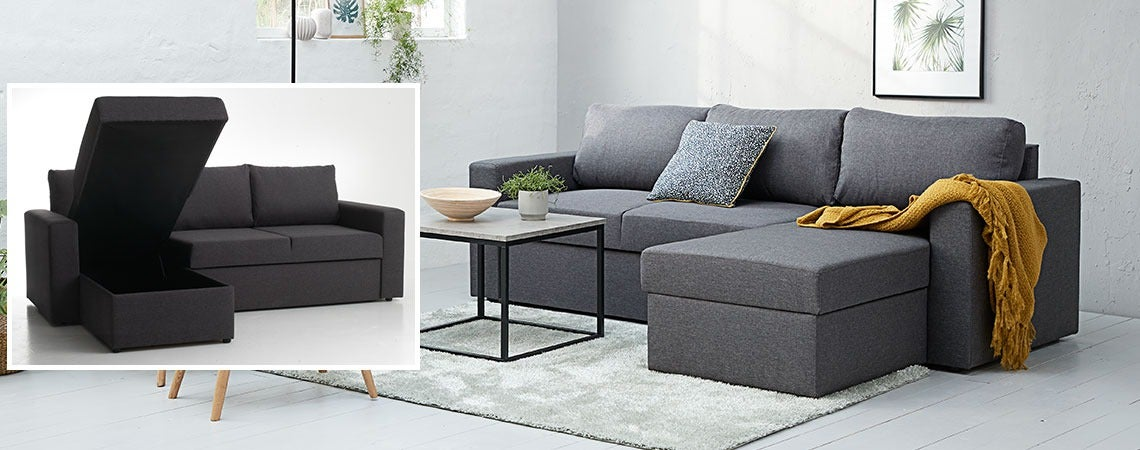 Sofa Beds for Sleeping, Sitting and Storage