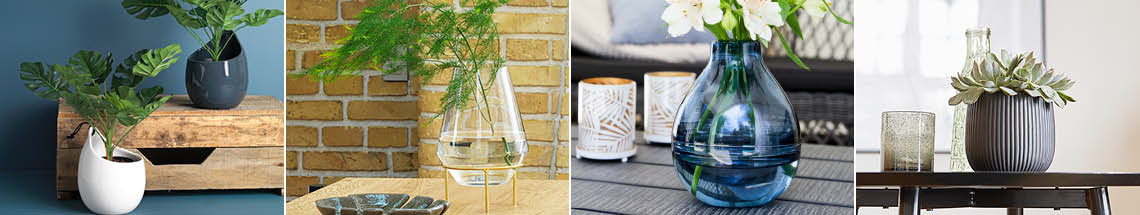 Indoor Pots, Plant Stands & Vases