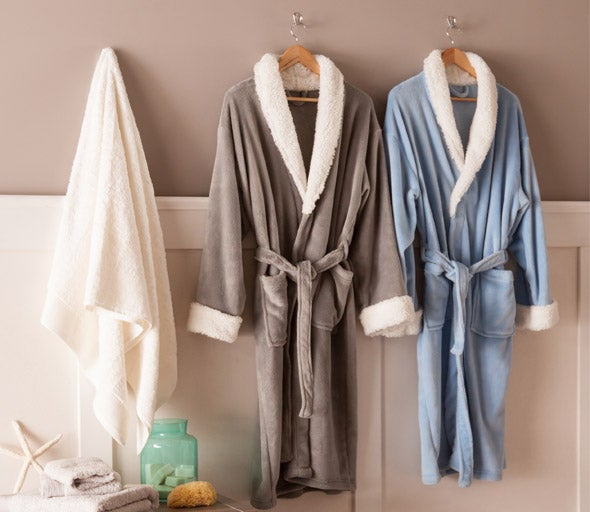 Bathrobes and Slippers
