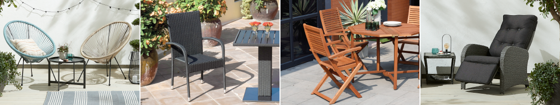 Patio Chairs & Benches