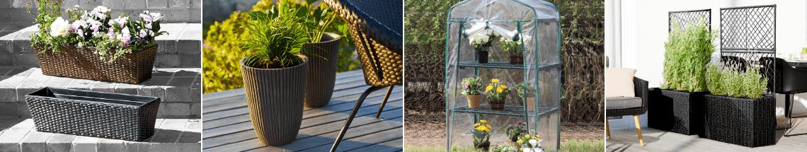 Jardinières, pots à fleurs et jardinage