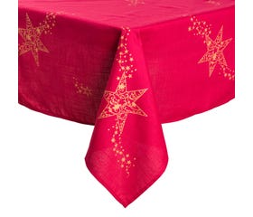 SELJAL Table Cloth 85x85cm (Red)