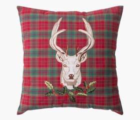 Deco cushion reindeer