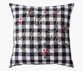 brickan christmas throw pillow