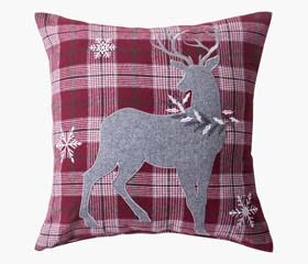 Christmas deco cushion