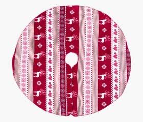 AARHUS Tree Skirt Red/White