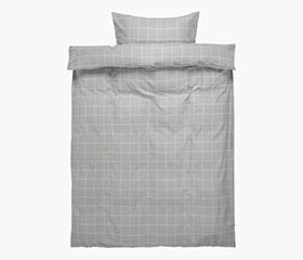 THERESA Flannel Duvet Cover Set (Twin)