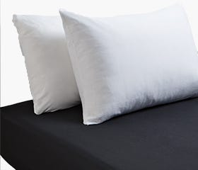 EVERYDAY Fitted Sheet Double  (Black)
