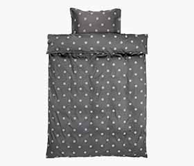 ANE 100% Cotton Sateen Duvet Cover Set (Twin)