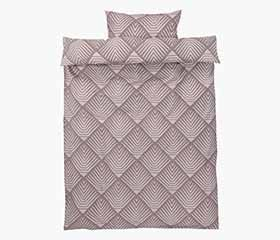 NOVA Purple Duvet Cover Set (Twin)