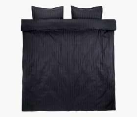 NELL Black Duvet Cover Set