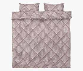 NOVA Purple Duvet Cover Set (Queen)