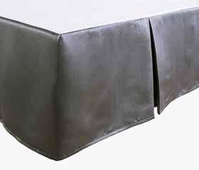 ESSENCE Double Bedskirt (Grey)
