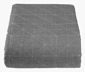 HIRSHOLM grey bedspread