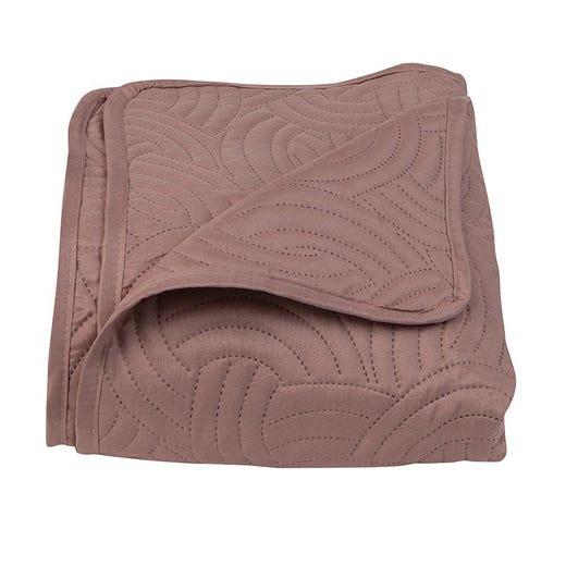 POLYROSE Brown Bedspread (Queen)