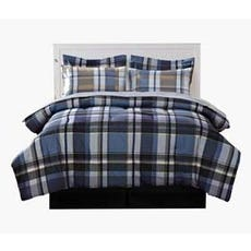 OXFORD 7 pc Reversible Bed in a Bag (King)