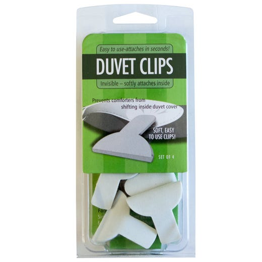 BEDDING ACCESSORY Duvet Clips (4pk.)