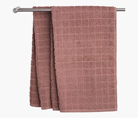 KARBY Hand Towel (Dusty Rose)