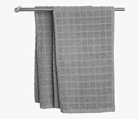 KARBY Hand Towel (Light Grey)