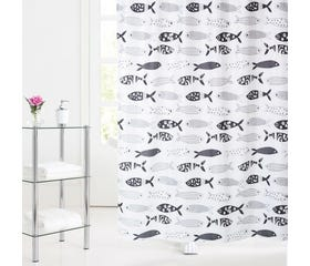 ENDELAVE Shower Curtain