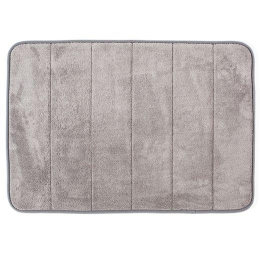 PHILIP Memory Foam Bathmat 43x61cm (Grey)
