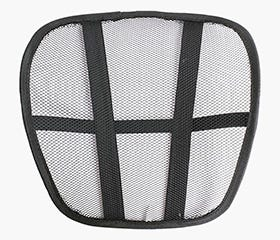 ROLF Mesh Back Support (Black)
