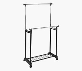 SAMBA Garment Trolley Double