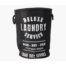 DELUXE Laundry Basket (Black)