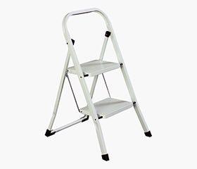 STEPON 2 Step Ladder (White)
