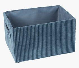 HALLDOR Blue Storage Box