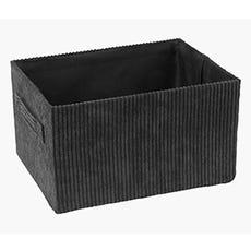 HALLDOR Black Storage Box