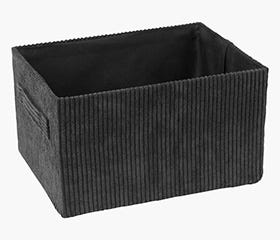 HALLDOR Black Storage Box