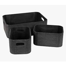 HALDUR Storage Boxes (Set of 3)