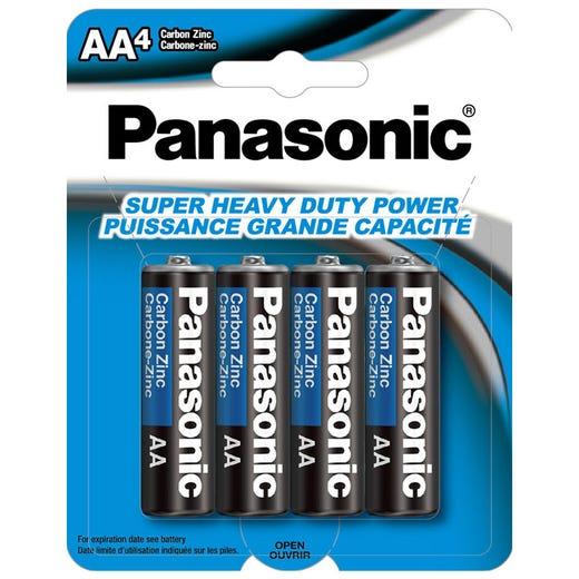 PANASONIC AA Super HD Battery (4Pk)