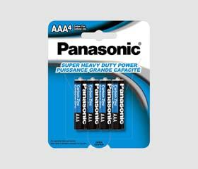 PANASONIC AA Super HD Battery (4Pk)