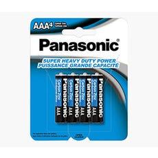 PANASONIC AAA Super HD Battery (4Pk)