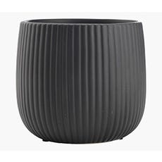 ODDMUND Plant Pot (Black)