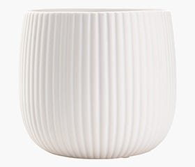 ODDMUND Plant Pot (White)