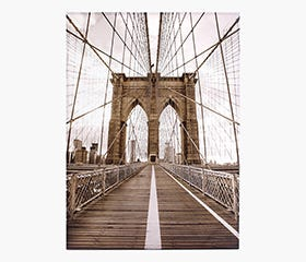 CITY Bridge Print - NYC
