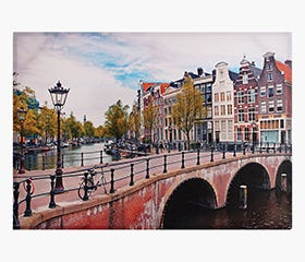 AMSTERDAM Bridge Print