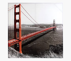 CITY Bridge Print - Golden Gate