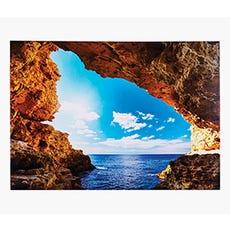 ocean cavern canvas print