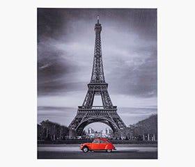 SHUTTER Eiffel Tower Canvas Print