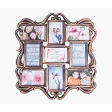 SNORRE 9-Photo Collage Frame (Copper)