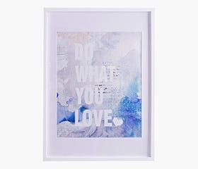 """RYNDAL Picture Frame 20x28"""" (White)"""