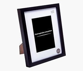 "TORGER Picture Frame 8 x 10"" (Black)"