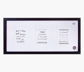"TORGER Picture Frame 9x20"" (Black)"